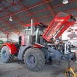 Трактор К-4 на предпродажной подготовке