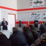 Обучение механизаторов Орловской области эксплуатирующих тракторы Кировец серии К-744Р 27 февраля 2018 года в классе «КИРОВЕЦ» в ОГАУ