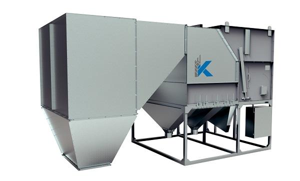 Аэродинамическая зерноочистительная машина «Класс» стационарная